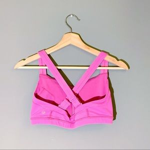 Lululemon | Bra Cross Adjustable Strap Pink Size 8